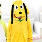 Boys & Girls Pluto Dog Warm Kigurumi Onesies Pajamas Costumes