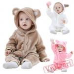 Kigurumi   Animal Pink Kigurumi Onesies - Cool Baby Onesies