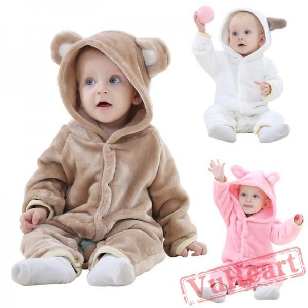 Kigurumi | Animal Pink Kigurumi Onesies - Cool Baby Onesies