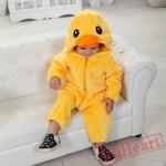 Kigurumi | Yellow Duck Kigurumi Onesies - Cool Baby Onesies