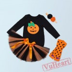 Black Long Sleeves Halloween Toddler/Baby Girl Onesies & Bodysuit