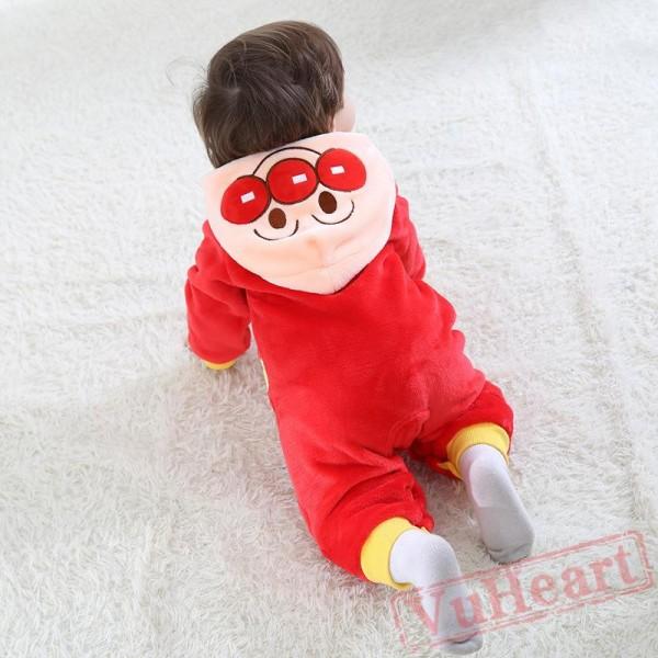Bread Superman Cartoon Baby Onesie Costumes / Clothes