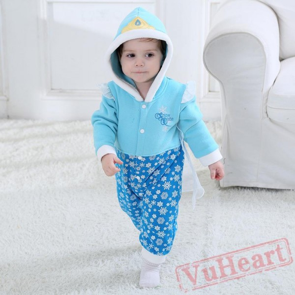 Baby Girl Snowflake Baby Onesie Costumes / Clothes