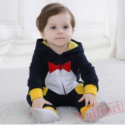 Black Animal Crow Baby Onesie Costumes / Clothes