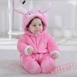 Purple & Pink Pink Purple Baby Onesie Costumes / Clothes