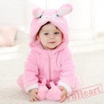 Pink Purple Rabbit Baby Onesie Costumes / Clothes