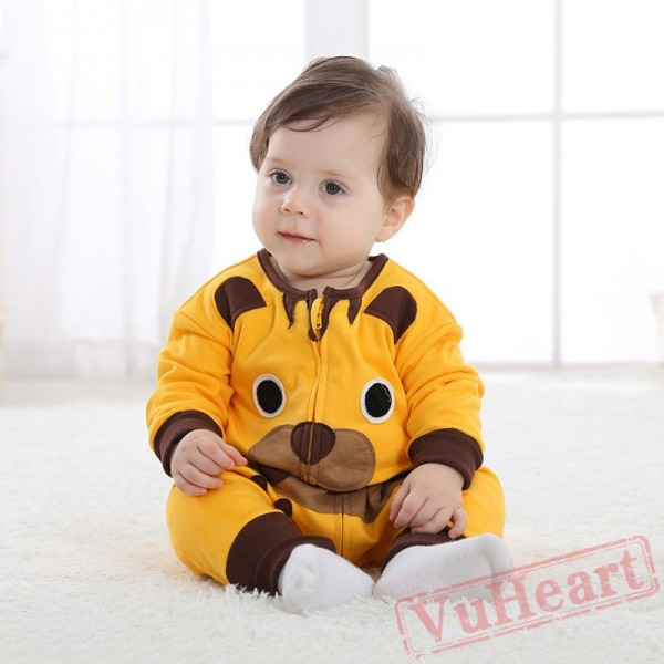 Yellow Tiger Baby Onesie Costumes / Clothes