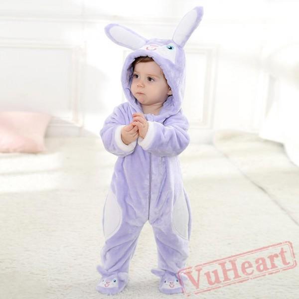 Pink Purple Rabbit Baby Onesie Costumes / Clothes