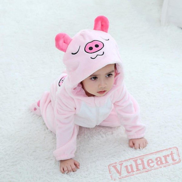 Love Pig Pink Baby Onesie Costumes / Clothes