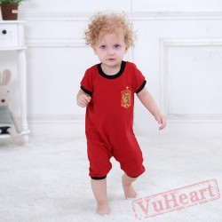 Summer Print Short Sleeve Shirt Baby Onesie Costumes / Clothes