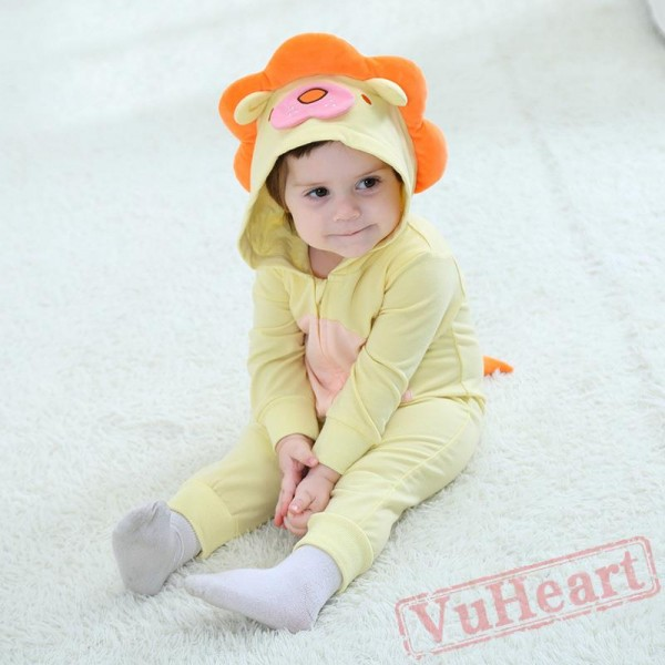 Lion Cute Lion Animal Baby Onesie Costumes / Clothes