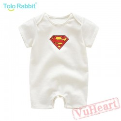 Summer Print Short Sleeve Baby Onesie Costumes / Clothes