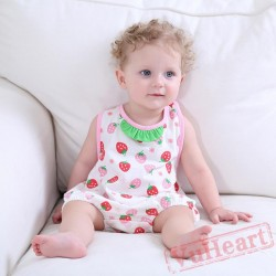 Pink Strawberry Watermelon Baby Onesie Costumes / Clothes
