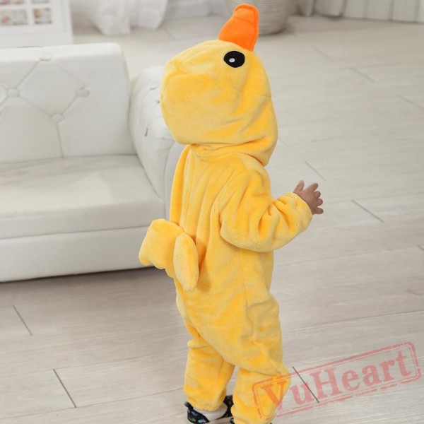 Yellow Flannel Baby Onesie Costumes / Clothes