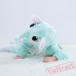 Blue Elephant Animal Baby Onesie Costumes / Clothes