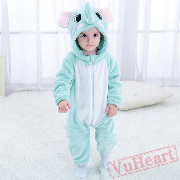 Blue Elephant Animal Baby Onesie Costumes / Clothes
