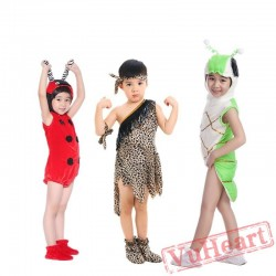 Children's Clothing - Butterfly Peacock Yellow owl Kids Clothes for Boy & Girl   Dance Clothes