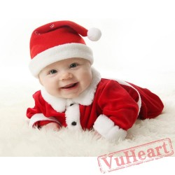 Baby Long Sleeve Christmas Onesies  sc 1 st  VuHeart : infant christmas costumes  - Germanpascual.Com