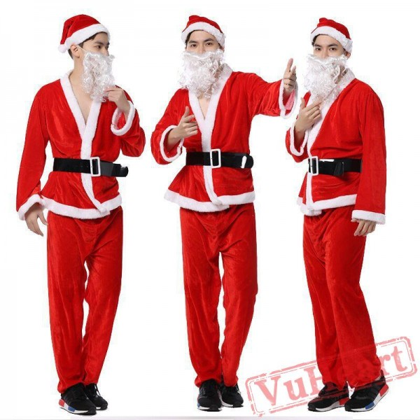 Christmas Santa Claus Clothing for Men
