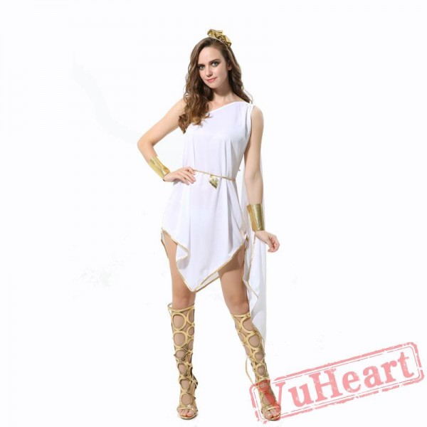 Ancient Greek goddess Athena costume, Egyptian bright costume