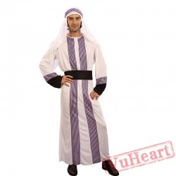 Adult men Arab Dubai costume