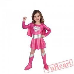 Halloween Child Superman Anime Costume