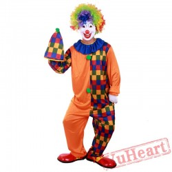 Halloween adult clowns, circus costumes