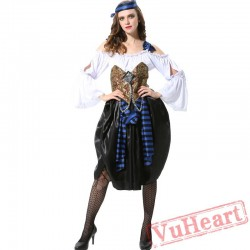 Adult Halloween Pirate Garment Woman