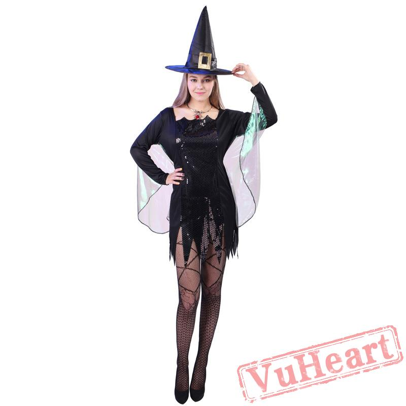 sc 1 st  VuHeart & Halloween adult costume sexy witch costume