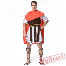 Ancient Roman warrior costume, Spartan warrior costume