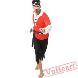 Halloween Caribbean Pirate Garment, Captain Jack