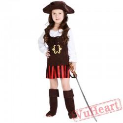 Halloween Child costume, Elis Pirate Captain Costume