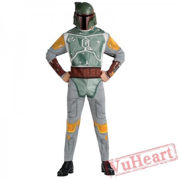 Halloween cosplay costume, black warrior Star Wars costume