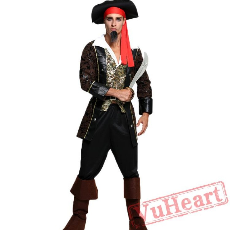 sc 1 st  VuHeart & Halloween costumes Caribbean pirate costume men