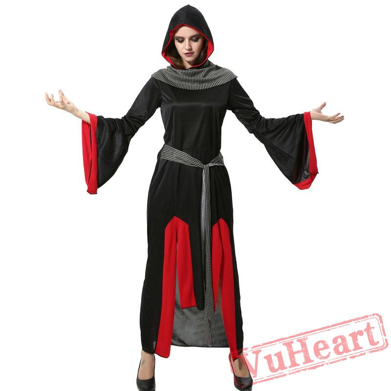 Vampire costume, Halloween queen costume