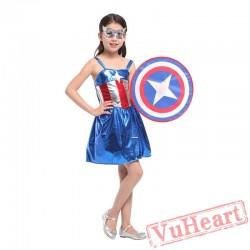 Halloween American Captain Costume