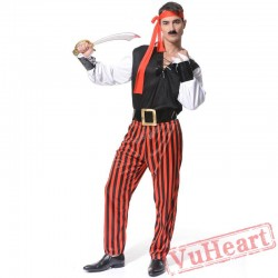 Halloween Adult Caribbean Pirate Garment