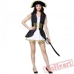 Halloween Caribbean Pirate Garment, women Pirate Garment