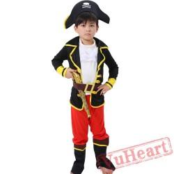 Halloween Child Caribbean Pirate Garment