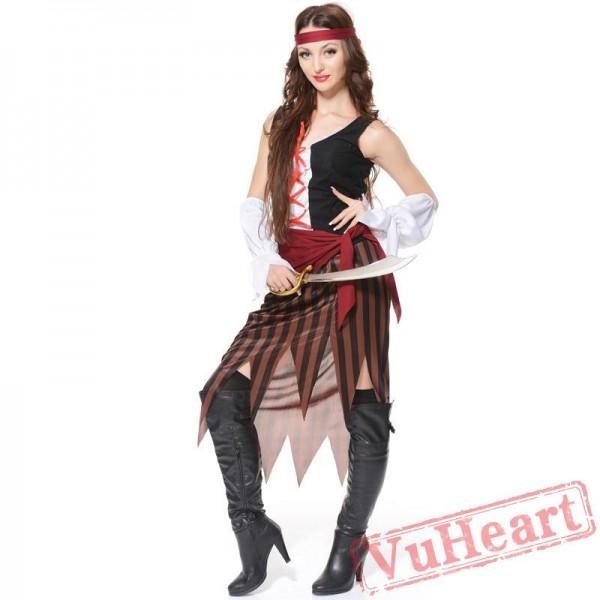 Halloween cosplay women pirate costume