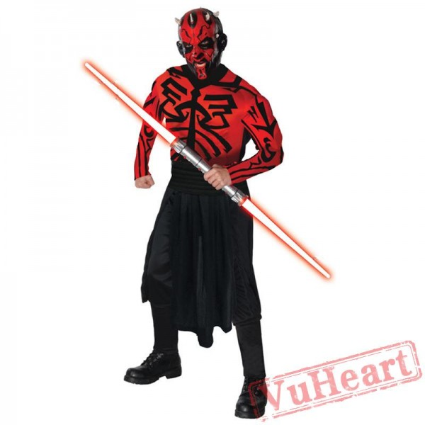 Halloween cosplay costumes, Star Wars Red Devils robe