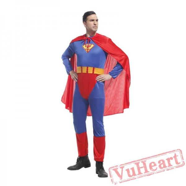 Adult onesies superman costume