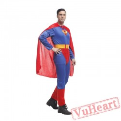 Adult onesies superman costume