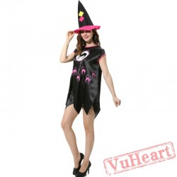 Halloween adult cosplay costume, witch costume