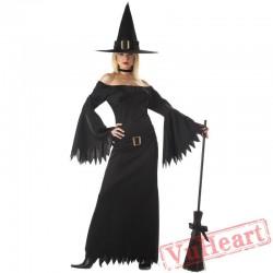Black witch dress, witch dress