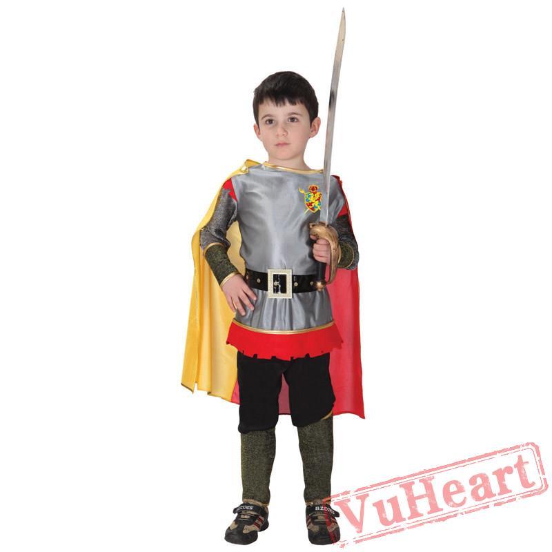 halloween kids costume armor warrior costume