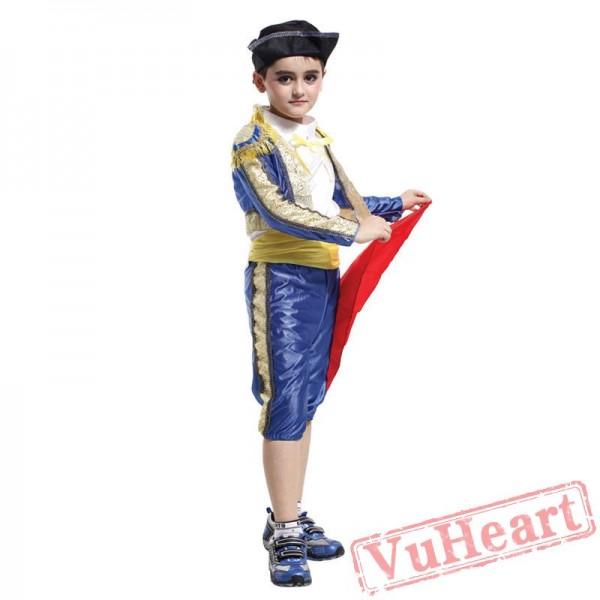 Halloween kid's costume, matador costume
