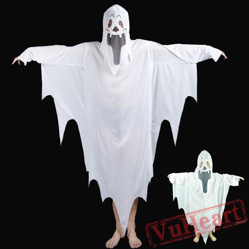 & Halloween horror costume white ghost costume
