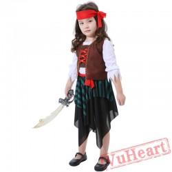 Halloween Child Caribbean Pirate Garment Jack