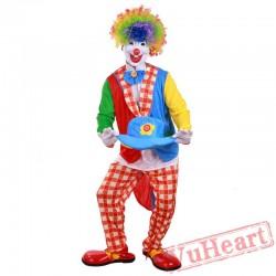 Halloween adult costume, clown costume
